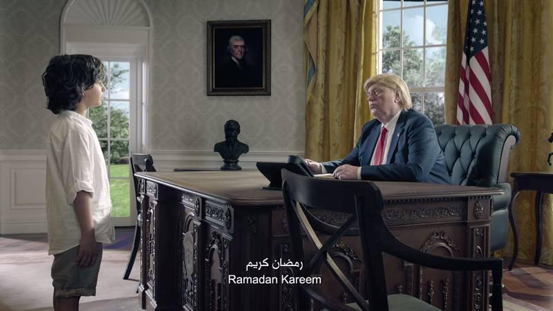 A screesnhot of Zain Ramadan 2018 Commercial. Courtesy Joy Productions / Zain