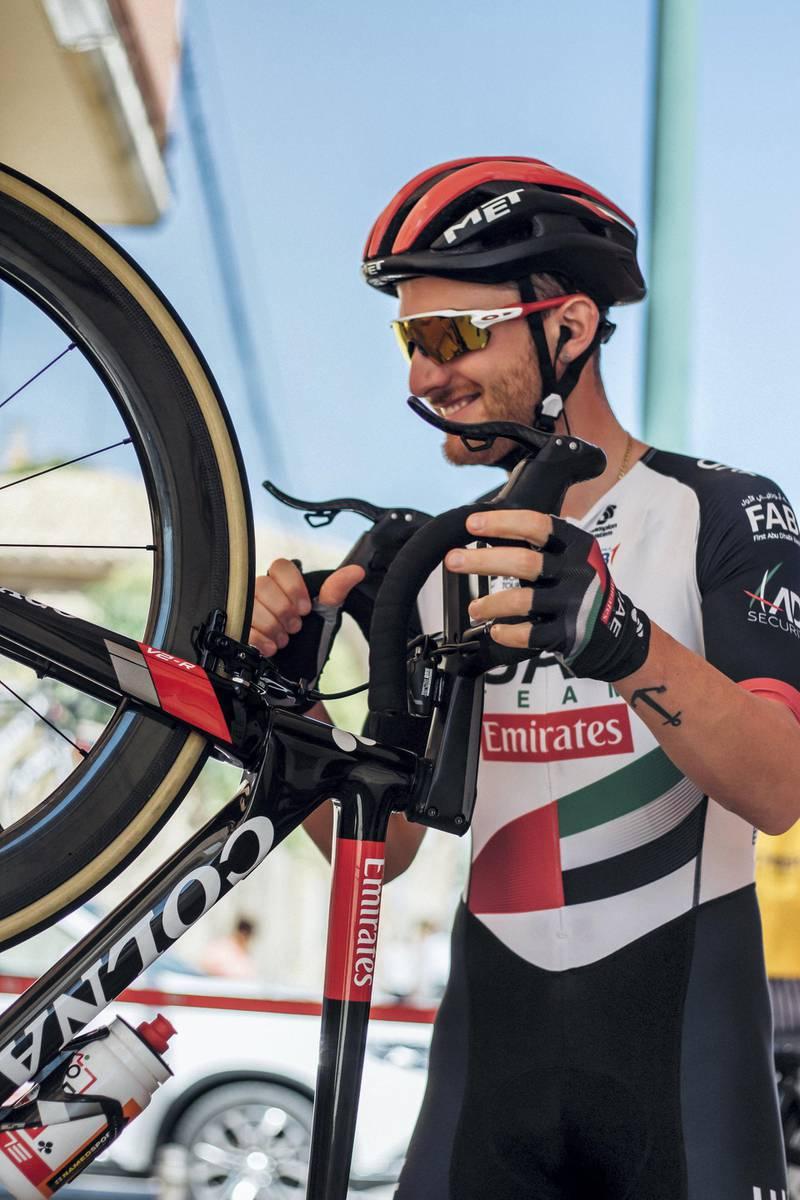 Vuelta - Simone Consonni