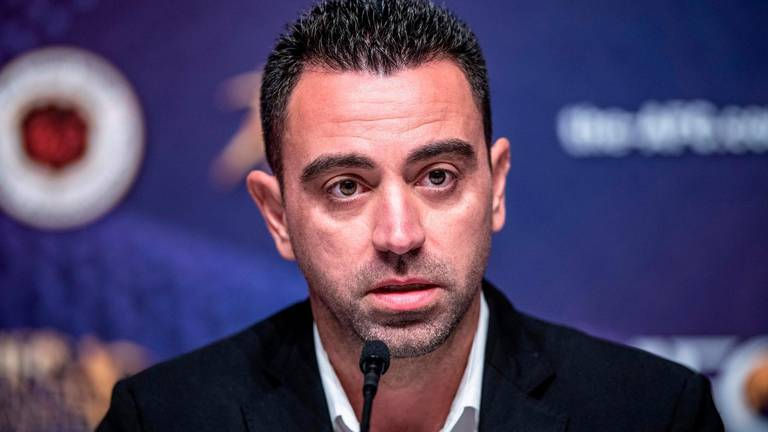 An image that illustrates this article Xavi's credentials as future Barca manager face test at Club World Cup