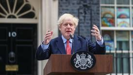 UK Prime Minister Boris Johnson: 'We are beginning to turn the tide, but it is the moment of maximum risk'