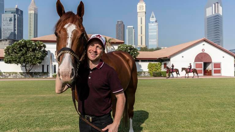 An image that illustrates this article Jockey O'Shea out to consolidate his position at the top as new UAE season begins