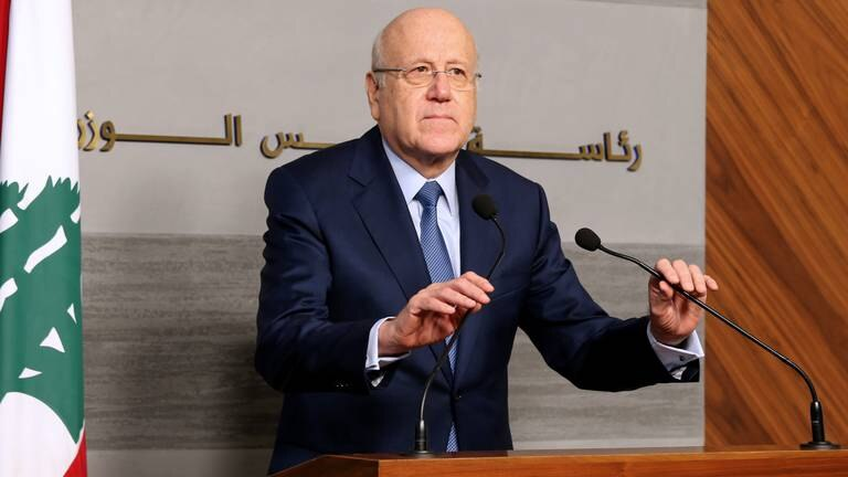 An image that illustrates this article Lebanese PM to discuss economy in visit to Iraq