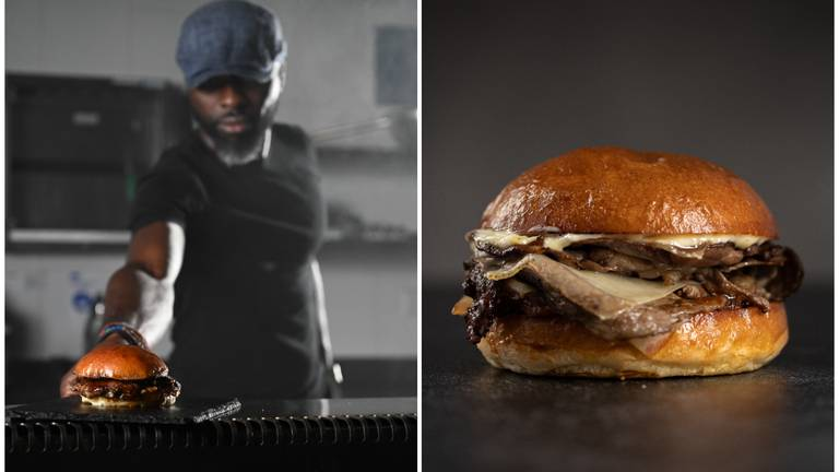 An image that illustrates this article Izu Burger expands to Abu Dhabi, with pop-up to celebrate UFC showdown week