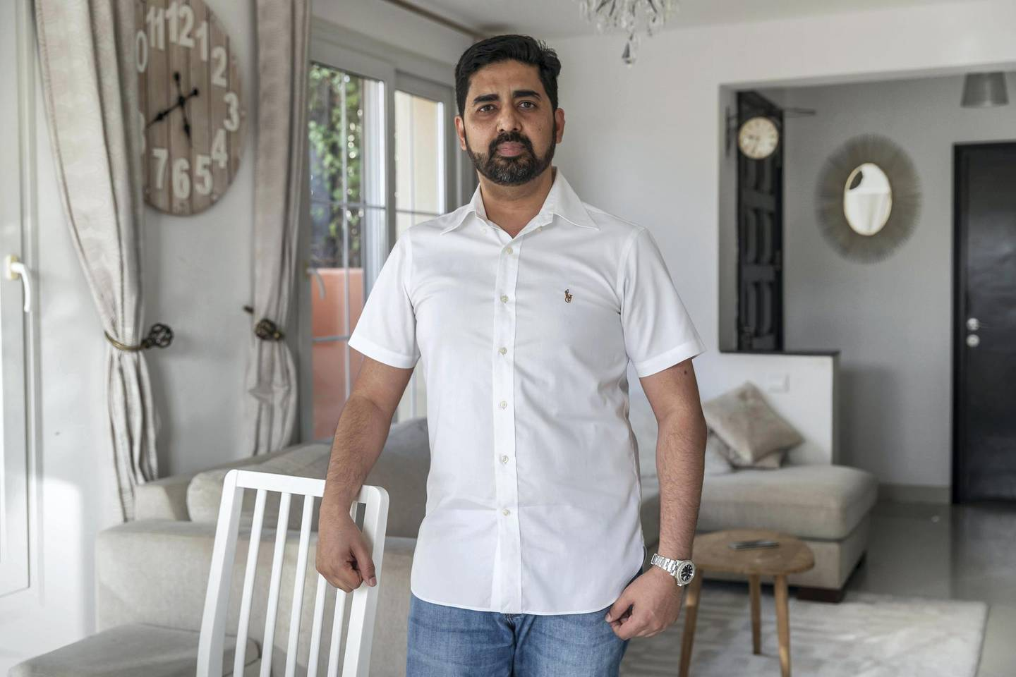 DUBAI, UNITED ARAB EMIRATES. 10 MAY 2020. STANDALONE. Money & Me feature with Faris Syed. (Photo: Antonie Robertson/The National) Journalist: Keith J Fernandez. Section: Business.