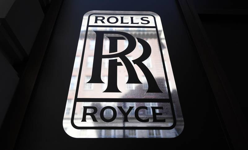 epa08433505 View of the Rolls Royce logo at a showroom in London, Britain, 20 May 2020. Rolls Royce has announced it is set to cut some 9,000 jobs as the coronavirus pandemic continues to take a heavy toll on the airline industry. Meanwhile, the UK's economy has suffered a 2-percent fall, its worst decline since the 2008 financial crash, due to the global effects of the ongoing pandemic of the COVID-19 disease caused by the SARS-CoV-2 coronavirus.  EPA/ANDY RAIN