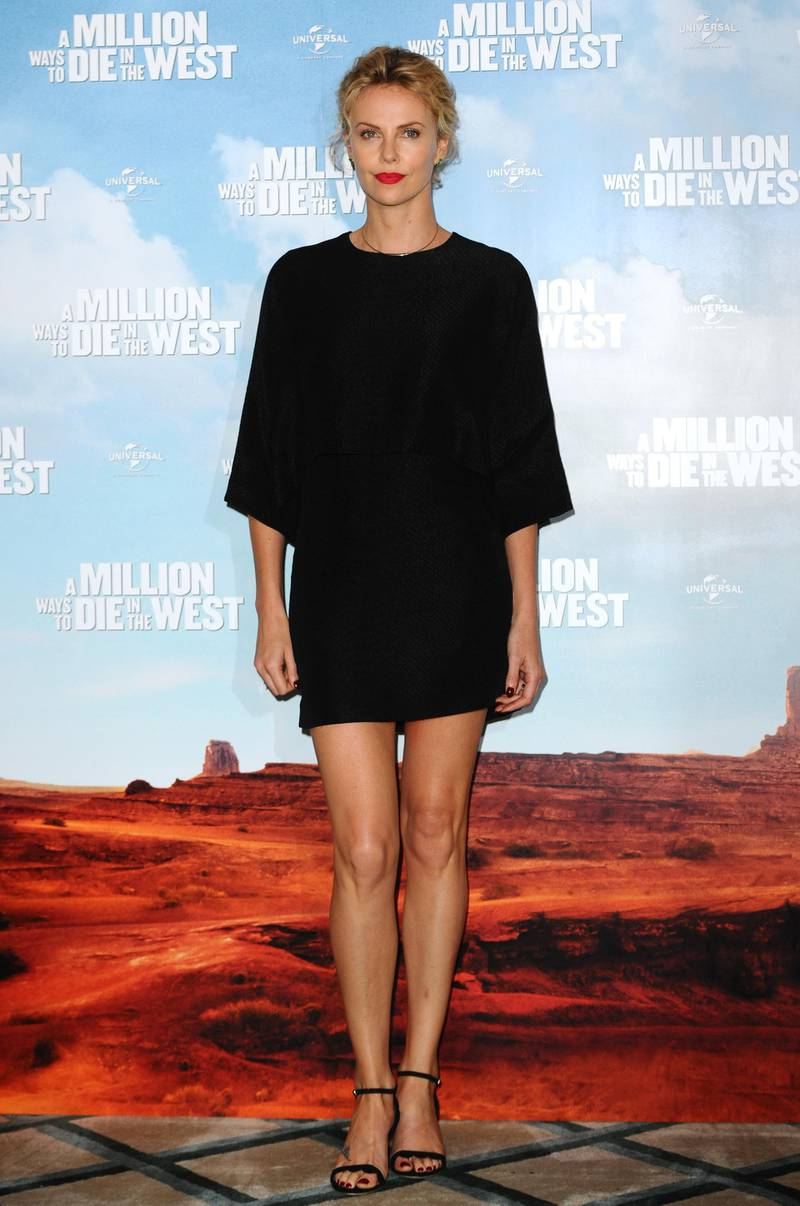 """LONDON, ENGLAND - MAY 27:  Charlize Theron attends a photocall to promote """"A Million Ways To Die In The West"""" on May 27, 2014 in London, England.  (Photo by Anthony Harvey/Getty Images)"""