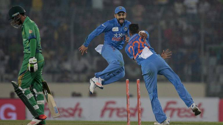 An image that illustrates this article India v Pakistan: 15 stats from biggest rivalry at T20 World Cup