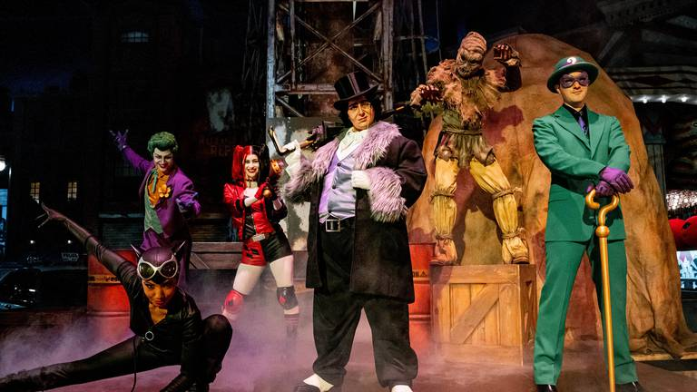 An image that illustrates this article Warner Bros World Abu Dhabi gets two new DC supervillains