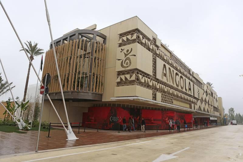 MILAN, ITALY - MAY 01:  Angola Pavillions - Expo 2015 at Fiera Milano Rho on May 1, 2015 in Milan, Italy.  (Photo by Vincenzo Lombardo/Getty Images)