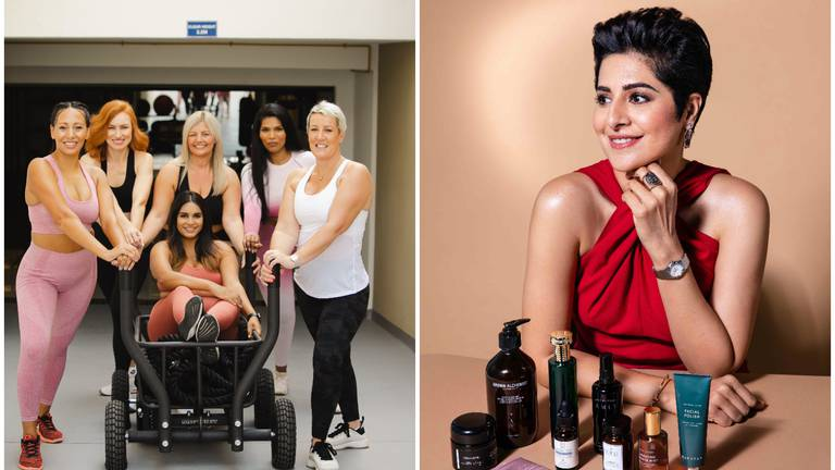 An image that illustrates this article The brands designed for breast cancer and chemotherapy patients in the UAE