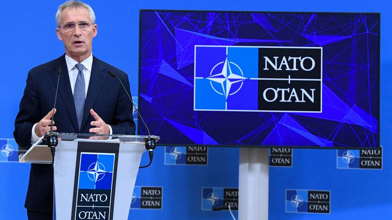 An image that illustrates this article Nato's relations with Russia 'worst since Cold War'