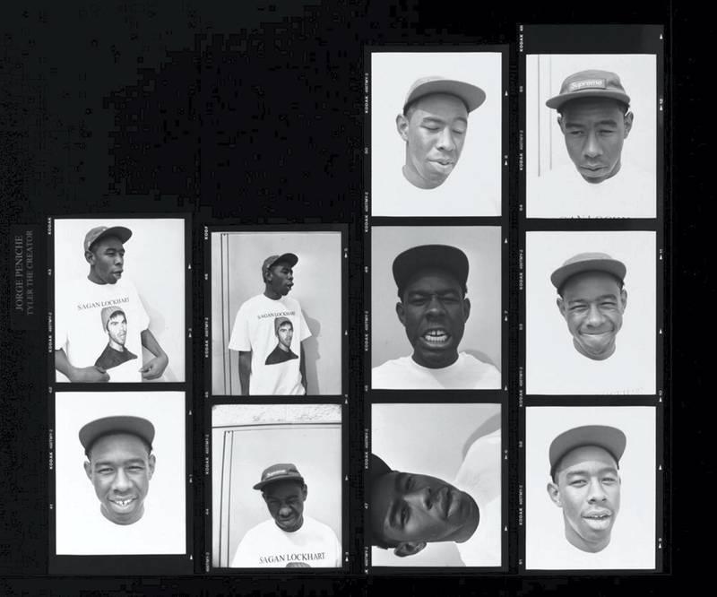 Jorge Peniche - Tyler, The Creator - Los Angeles, 2011. A Visual History of Hip-Hop exhibition in Manarat Saadiyat. photo: Nermine Kashef