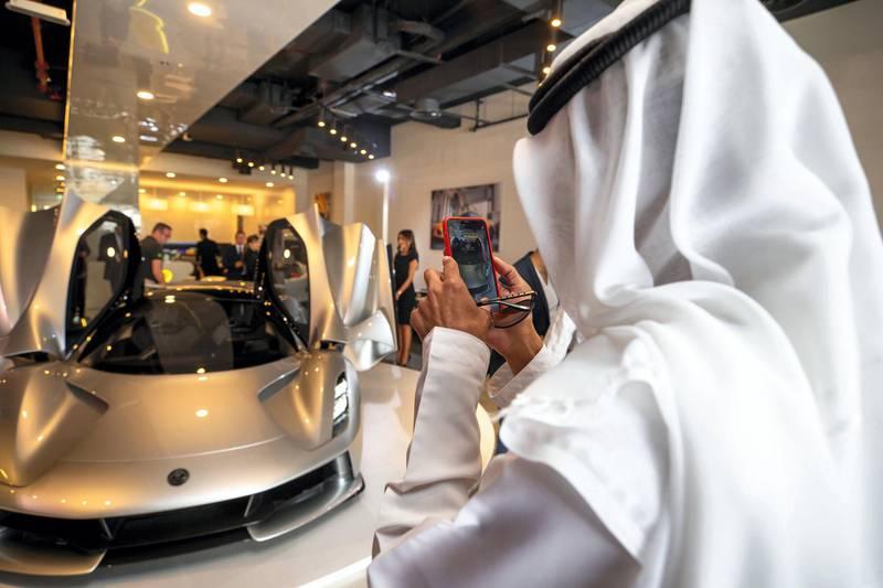 Lotus-Evija-World-Tour-UAE. courtesy: Lotus