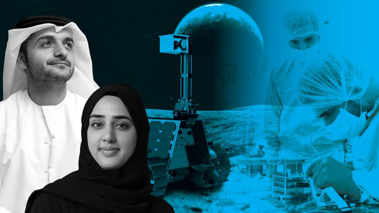 An image that illustrates this article Inside the Dubai lab where the first Arab lunar rover is coming to life