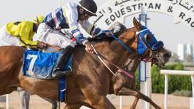 Trainer Badar Al Hajri secures first winner in the UAE at Sharjah's final meeting