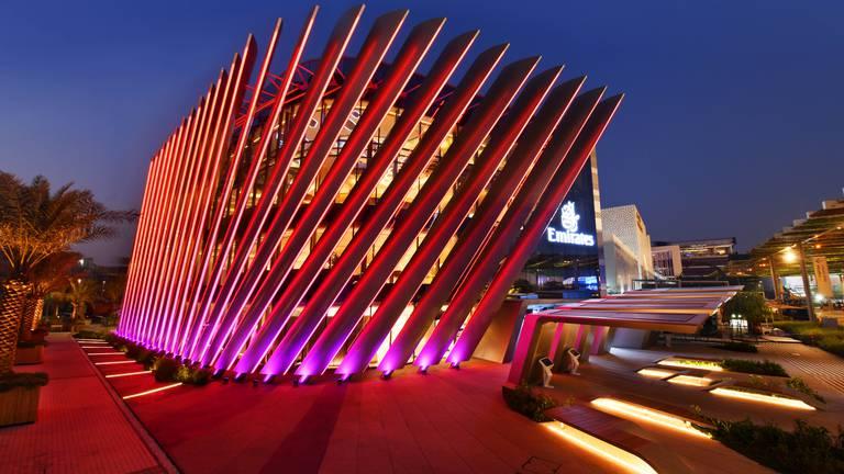 An image that illustrates this article What's inside Emirates' futuristic Expo 2020 Dubai pavilion