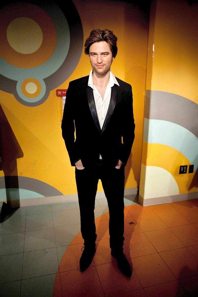 Actor Robert Pattinson's wax figure is unveiled at Madame Tussauds on April 22, 2011 in Washington, DC. (Photo by Paul Morigi/WireImage)