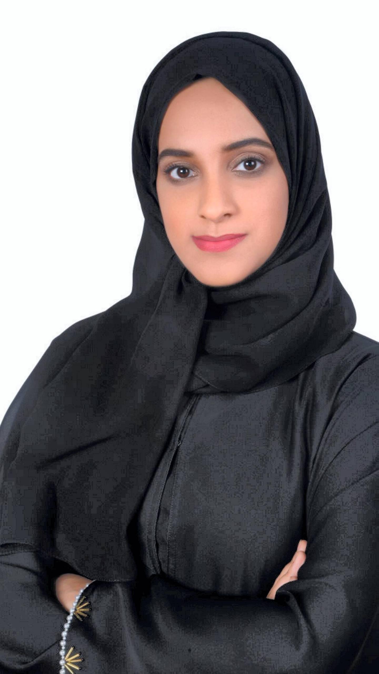 Amal Al Nuaimi. (its for Emirati Women's Day) Courtesy: Enec