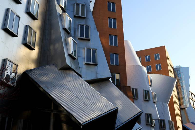 CAMBRIDGE, MASSACHUSETTS - MARCH 31: A view of the Ray and Maria Stata Center on the campus of Massachusetts Institute of Technology on March 31, 2020 in Cambridge, Massachusetts. Students at Universities across the country were sent home to finish the semester online due to the risk of coronavirus (COVID-19). Massachusetts Governor Charlie Baker put the state under a stay at home order in an attempt to contain the virus.   Maddie Meyer/Getty Images/AFP