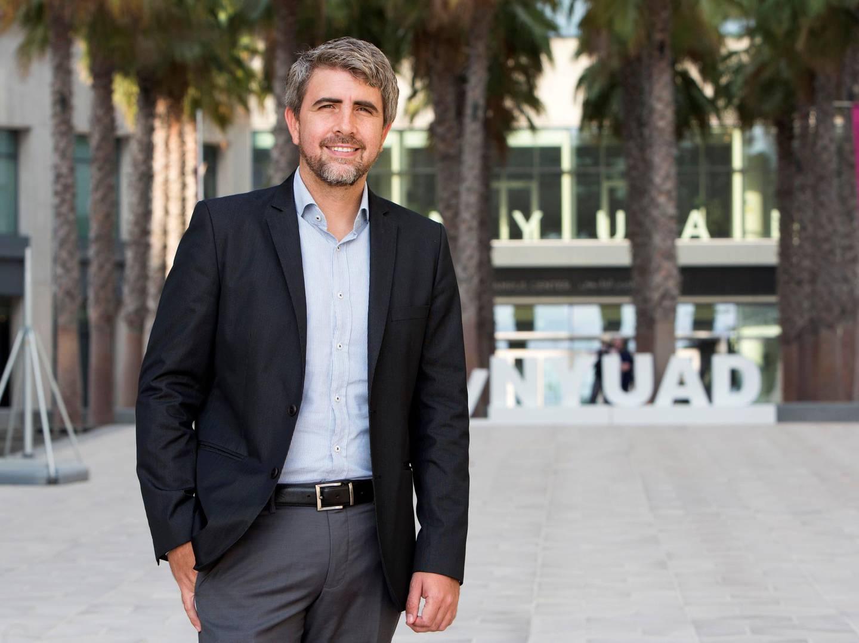 ABU DHABI, UNITED ARAB EMIRATES, 27 SEPTEMBER 2018-Dr. Ernesto Reuben for a story about research at NYU Abu Dhabi on gender stereotypes.  Leslie Pableo for The National for Daniel Bardsley's story