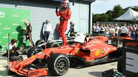 Charles Leclerc keeps his cool to guide Ferrari to first Italian Grand Prix win since 2010
