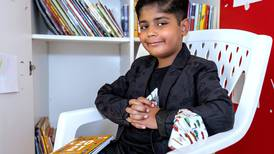 Seven-year-old pupil in Al Ain sets up a free library to encourage other children to read