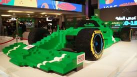 Saudi Arabian GP unveils world's biggest F1 'car' made from Lego bricks - in pictures