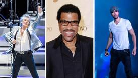 Rod Stewart, Lionel Richie and Enrique Iglesias are heading to Saudi Arabia