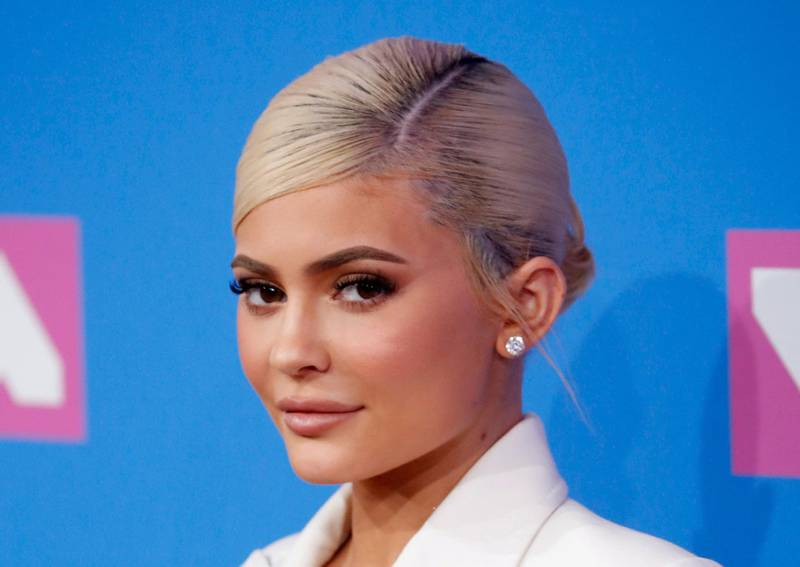 FILE PHOTO: Kylie Jenner arrives for the 2018 MTV Video Music Awards at Radio City Music Hall in New York, U.S., August 20, 2018.  REUTERS/Andrew Kelly/File Photo