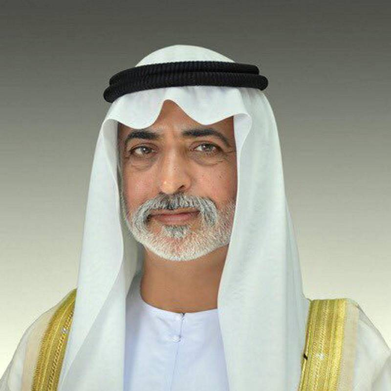 Sheikh Nahyan bin Mubarak as Minister of Tolerance and Coexistence…
