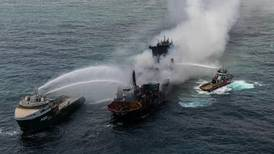 Sri Lankan firefighters extinguish 12-day blaze on container ship
