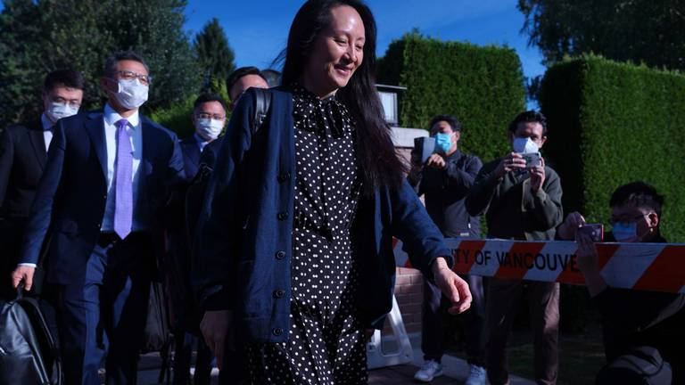 An image that illustrates this article Huawei's Meng Wanzhou reaches agreement with US department of justice