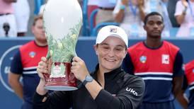 Ashleigh Barty and Alexander Zverev win Cincinnati titles ahead of US Open