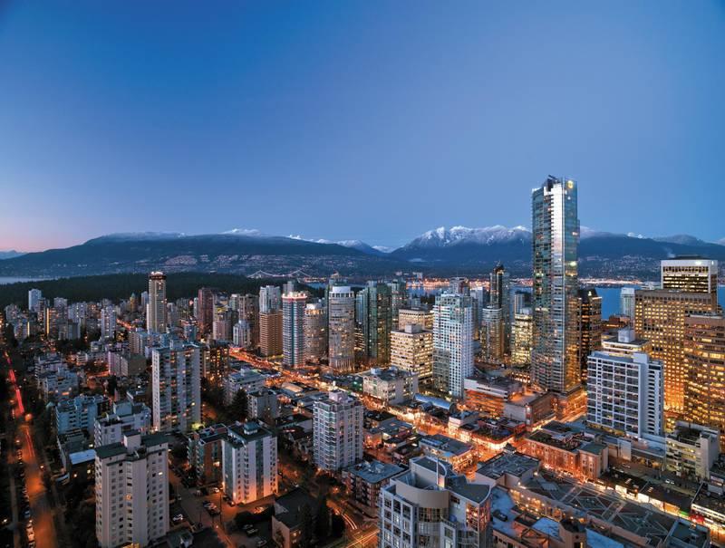 Shangri-La Hotel, Vancouver in Vancouver, Canada. Courtesy Shangri-La Group