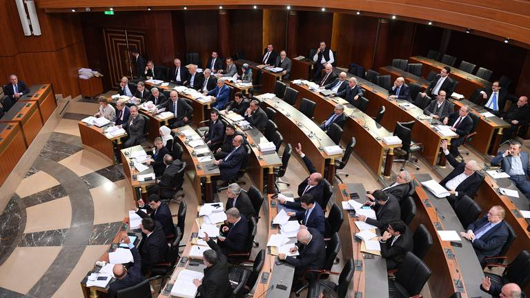 An image that illustrates this article Power cut delays meeting to approve new Lebanon government