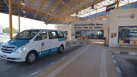 Free bus service that can be hailed on the street on trial in Abu Dhabi suburb