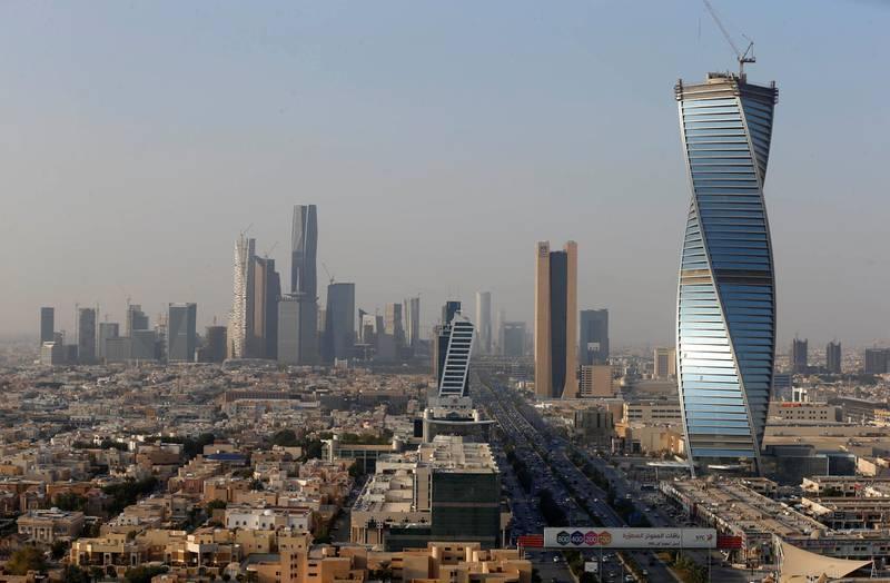 Buildings are seen in Riyadh, Saudi Arabia, December 18, 2017. Picture taken December 18, 2017. REUTERS/Faisal Al Nasser
