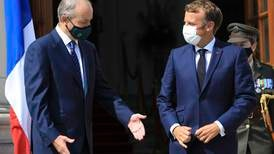 Emmanuel Macron backs Ireland in Brexit dispute