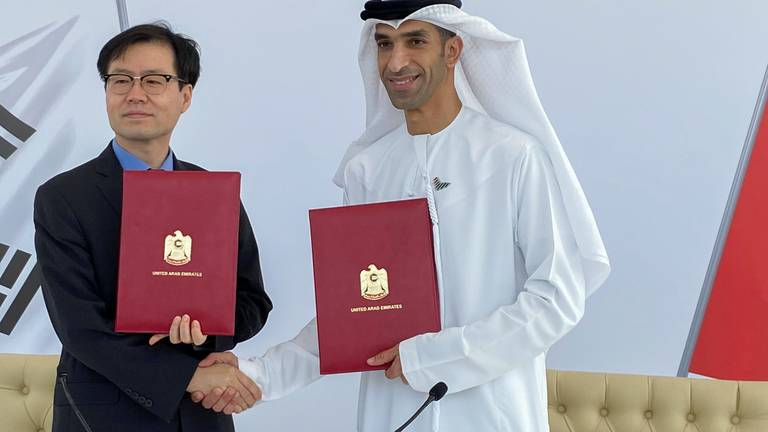An image that illustrates this article UAE and South Korea to start talks on wider economic partnership