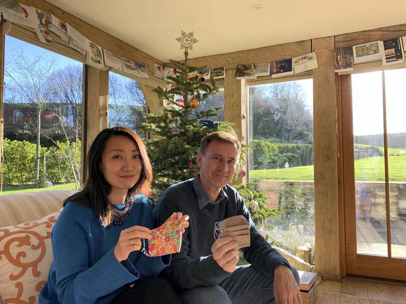One delightful present this Christmas: masks from Nazanin who we are not forgetting whatever the news at home. Hopes and prayers with her, Richard, Gabriella and the other hostage families for FREEDOM in 2021