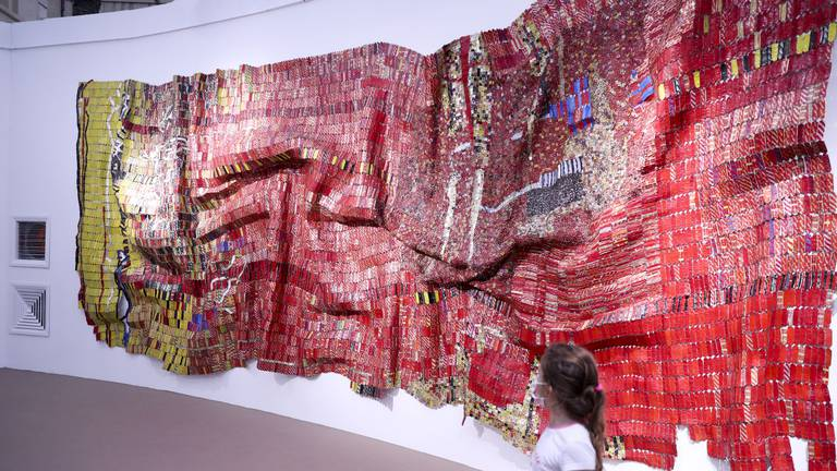 An image that illustrates this article Dubai's new Efie Gallery puts the spotlight on contemporary African artists