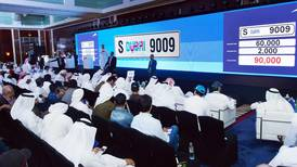 Dubai charity auction selling rare car plates and mobile numbers raises Dh50m