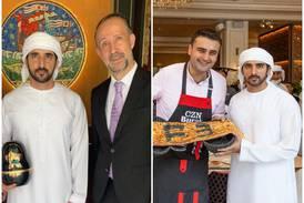 14 Dubai restaurants Sheikh Hamdan has been: Expo's Adrift Burger Bar to Caviar Kaspia