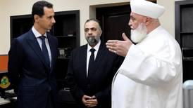 Mufti of Damascus killed in car bombing near Syrian capital