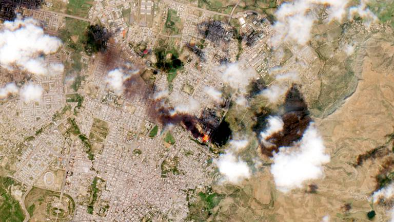 An image that illustrates this article Ethiopia air strikes hit Tigray for fourth time in a week