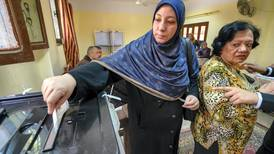 Second day of voting in Egypt sees low turnout in Nasr City