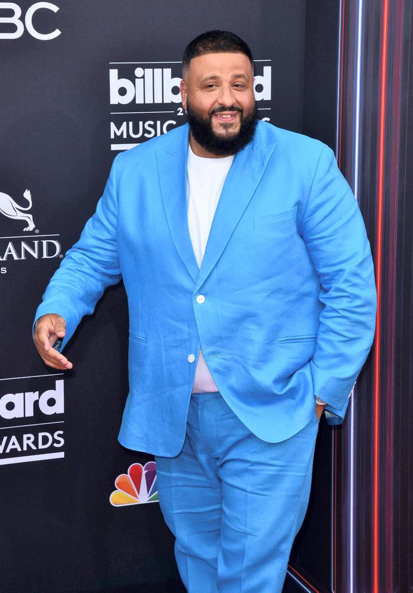 Mandatory Credit: Photo by imageSPACE/SilverHub/REX/Shutterstock (9686653ff) DJ Khaled Billboard Music Awards, Arrivals, Las Vegas, USA - 20 May 2018