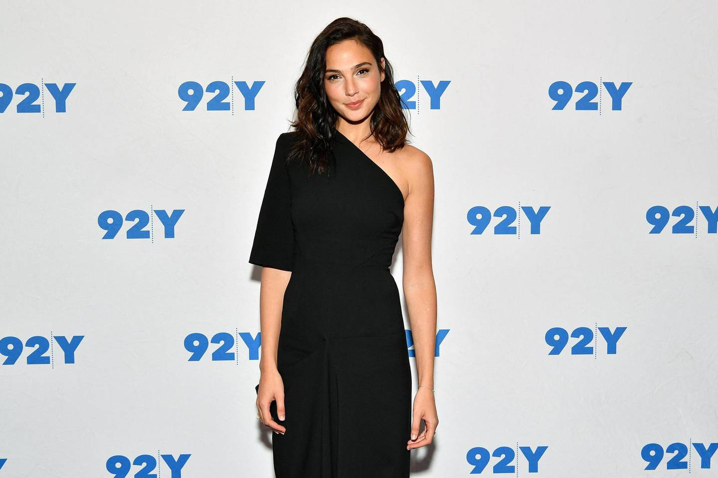 RESIZED. NEW YORK, NY - OCTOBER 01:  Gal Gadot attends Gal Gadot and Meher Tatna in Conversation with Carla Sosenko at 92nd Street Y on October 1, 2017 in New York City.  (Photo by Dia Dipasupil/Getty Images)