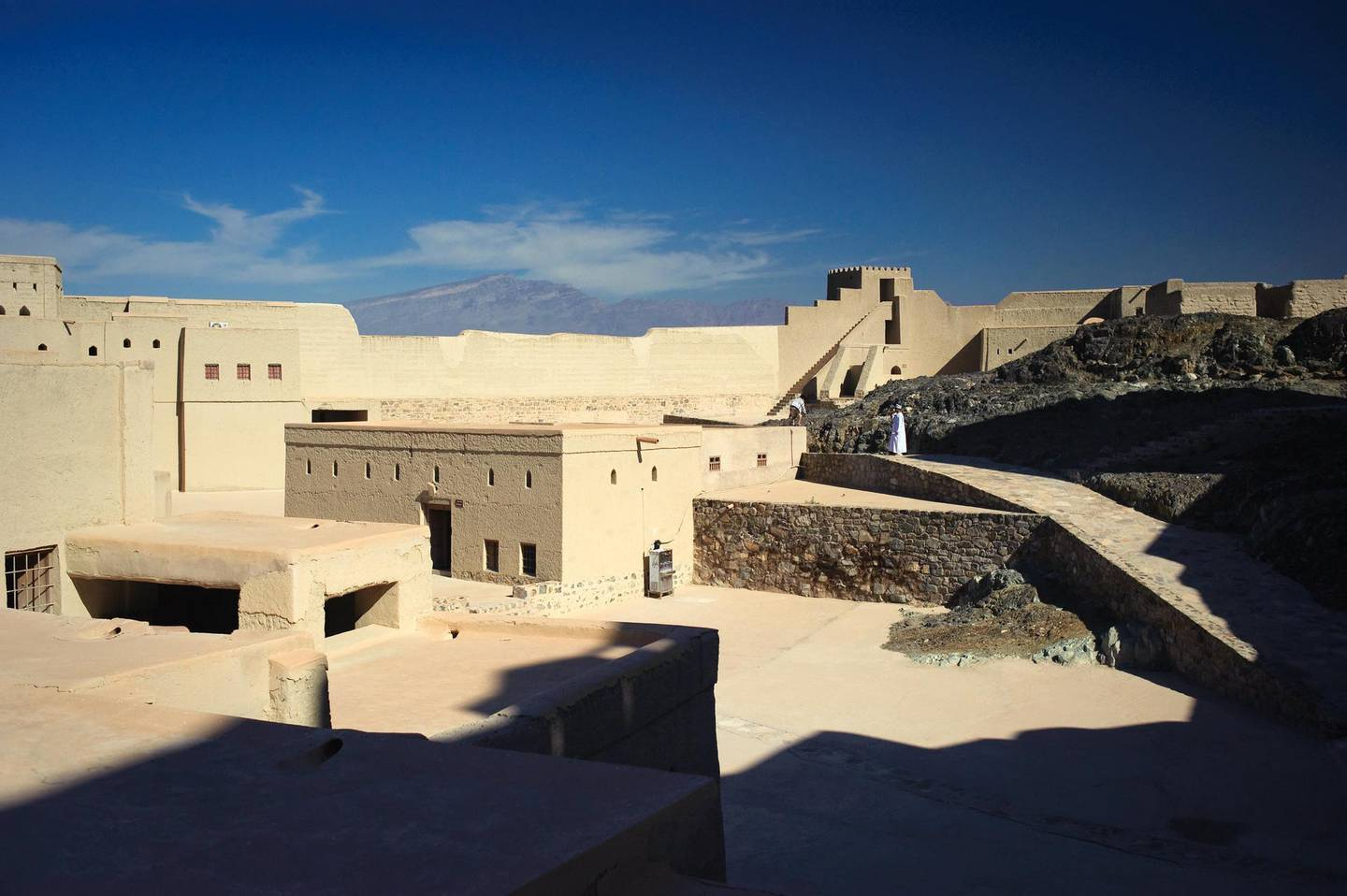 Bahla Fort is a UNESCO World Heritage Site located in Northern Oman.