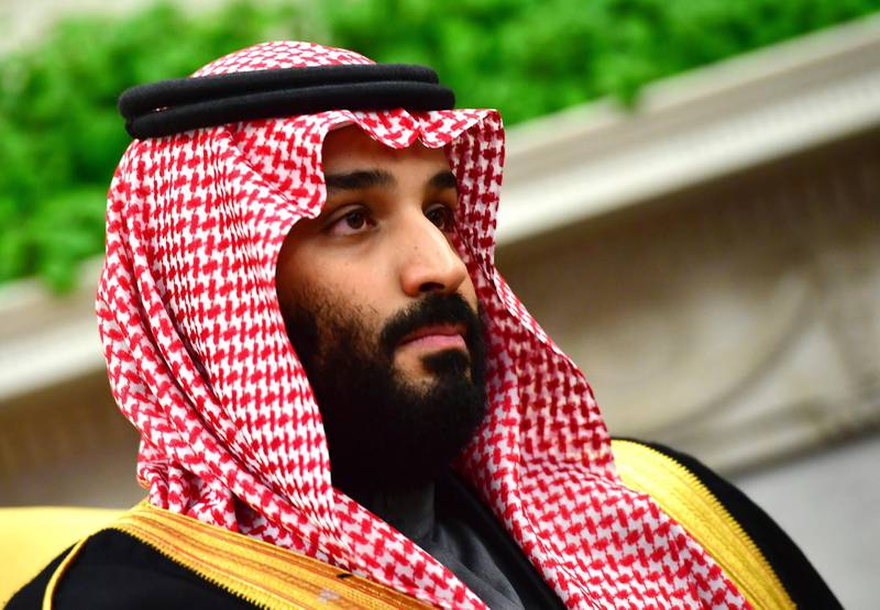 Mohammed bin Salman, Saudi Arabia's crown prince, listens during a meeting with U.S. President Donald Trump, not pictured, in the Oval Office of the White House in Washington, D.C., U.S., on Tuesday, March 20, 2018. The U.S. and Saudi Arabia are developing an increasingly close partnership, encompassing everything from isolating Iran to bolstering business ties beyond energy into technology, defense and entertainment. Photographer: Kevin Dietsch/Pool via Bloomberg